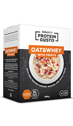 Protein Gusto - Oat & Whey with fruits